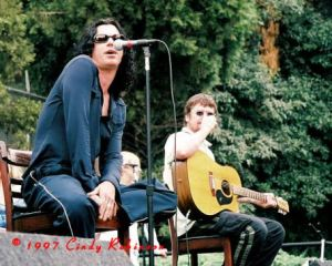 Michael Hutchence & Tim Farriss of INXS 1997