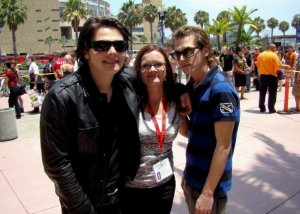 Gerard & Mikey Way, Comic Con 2009